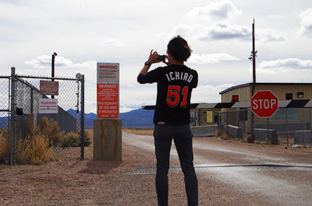 """Where are all the laser beams?"" Our reporter heads to Nevada's Area 51 on a top-secret mission"