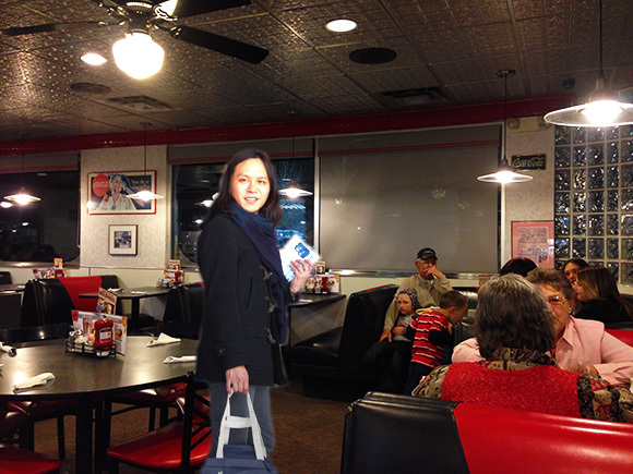 Our Japanese reporter gets a heaping helping of American Denny's
