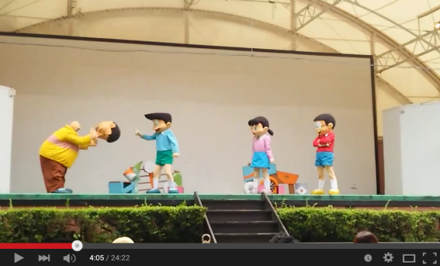 What would Doraemon look like with more decapitations? Something like this video