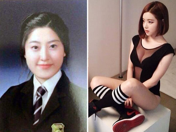 Did South Korean cutie DJ Soda get plastic surgery after high school? Some fans think so