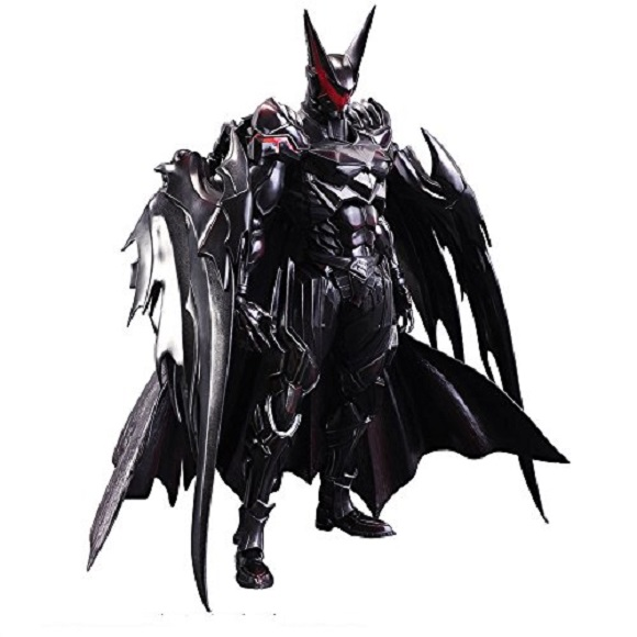 Pre-order the sleek new Batman figure envisioned by a prolific video game designer