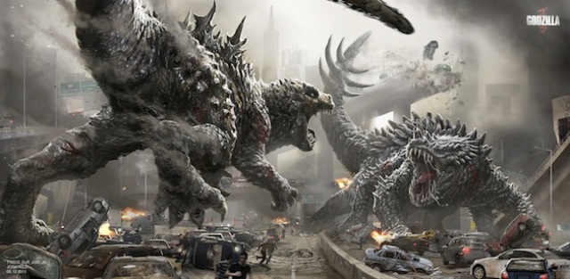 Check out cool artwork of monsters that could have been in the Godzilla 2014 movie!
