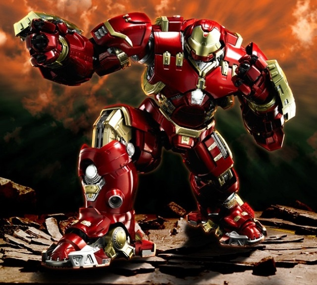 Japanese toymakers collaborate on amazing Hulkbuster you can call your own