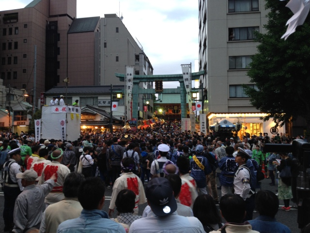The most crowded place in Tokyo? Might be the Kanda Matsuri festival, but it's still awesome