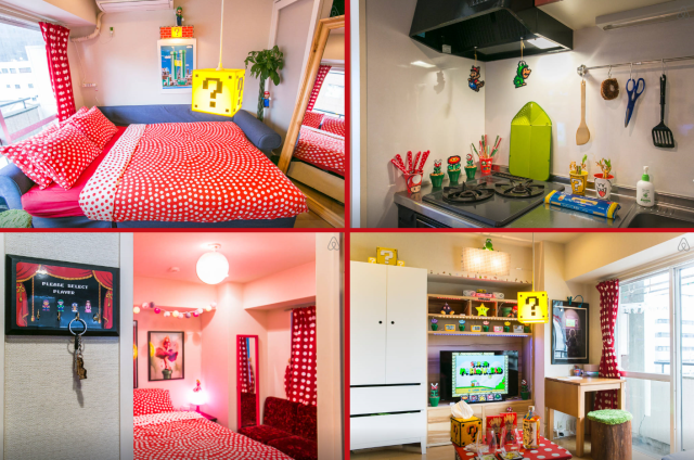 Mario World: The awesome Nintendo-themed apartment you can rent for your next short stay in Tokyo