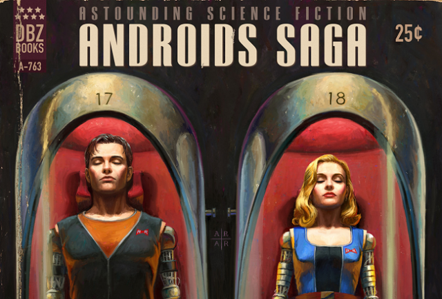 DBZ's Android saga re-imagined in cheesy but awesome science fiction form