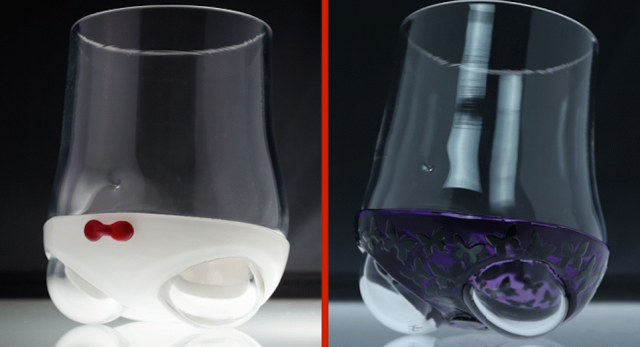Want to drink like an adult? Have a beverage in one of these panty-glasses