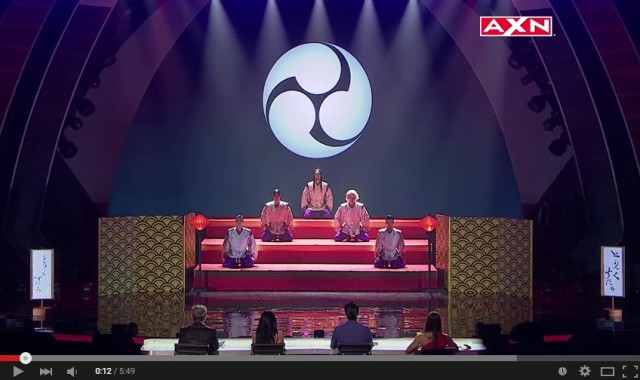 """Japanese dance group combines the traditional and modern with cool """"Asia's Got Talent"""" performance"""