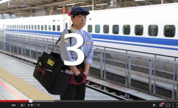 This is how Japan's train-cleaning crews clean the Shinkansen in only seven minutes