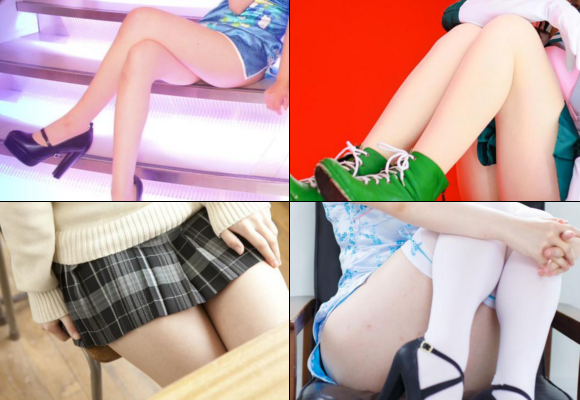 Japanese women of Twitter show off legs to encourage men working over Golden Week holidays