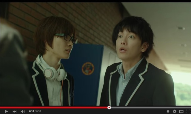 Live-action Bakuman trailer released, first glimpse of stars playing against type