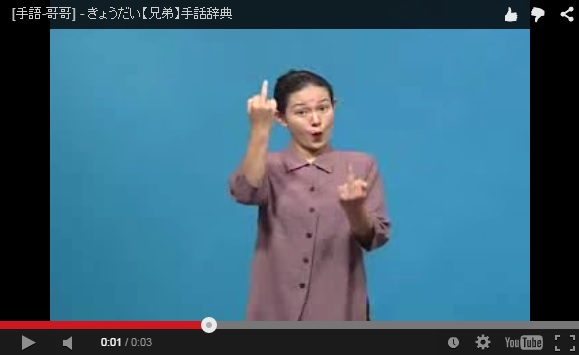 Enjoy a little lesson in Japanese sign language – it may prevent serious misunderstandings someday