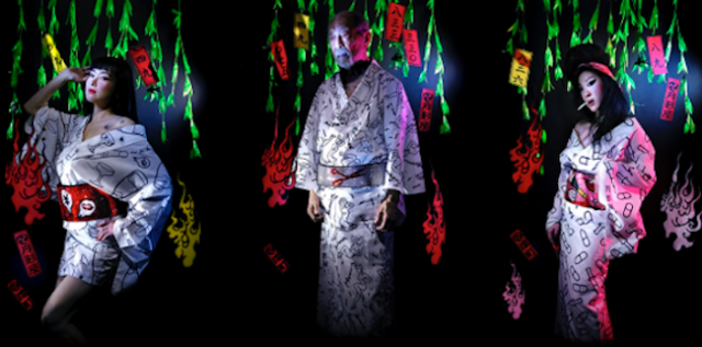 Tsukikageya brings a fresh look to traditional yukata with designs inspired by new and old