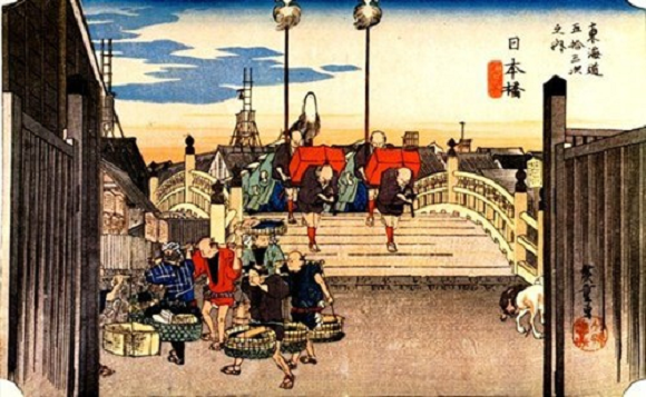 Tokaido ukiyoe series by Hiroshige now free to share, we celebrate with five favourites