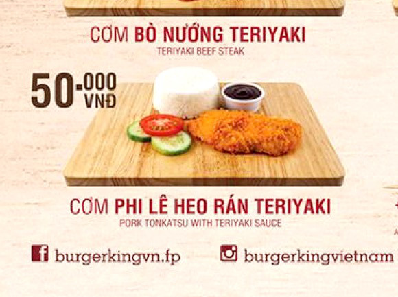 Culturally confusing Vietnamese Burger King found selling Japanese food