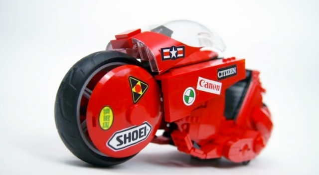 Everything is awesome when you own an Akira bike built entirely from Lego
