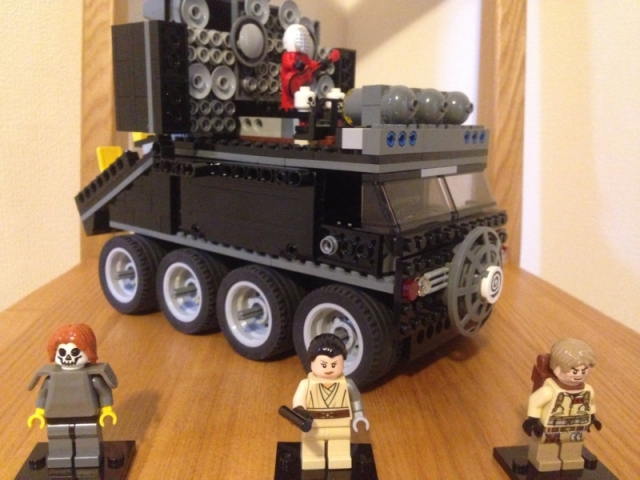 Japanese kid too young to see Mad Max stays home, builds awesome Doof Wagon out of Lego instead