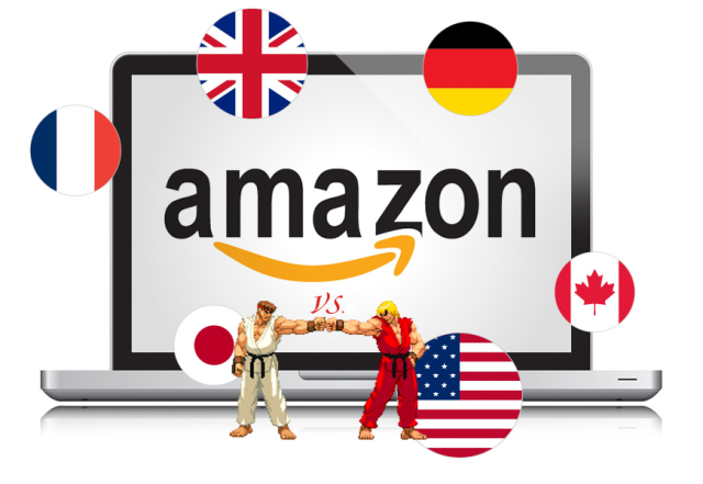 Amazon best seller ranking comparison between US and Japan turns up interesting results
