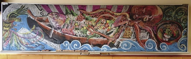 Blackboard art contest produces entries that will take your breath away
