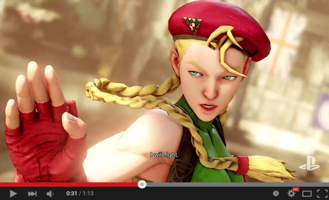 "Some Japanese gamers aren't liking the ""shockingly ugly"" Cammy in Street Fighter V 【E3 2015】"