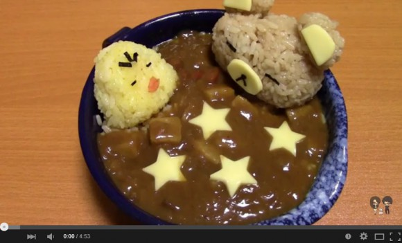 "Deco-curry 101: How to make ""Rilakkuma bath-time curry"" at home"