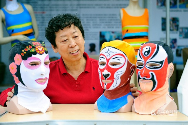 Beijing Opera meets sun protection: Facekini 4.0 for skin tone and fashion conscious bathers