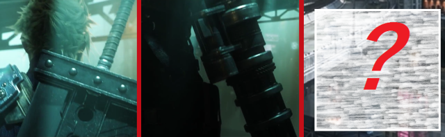 Have you found the third Square Enix character hiding in the Final Fantasy VII remake video?