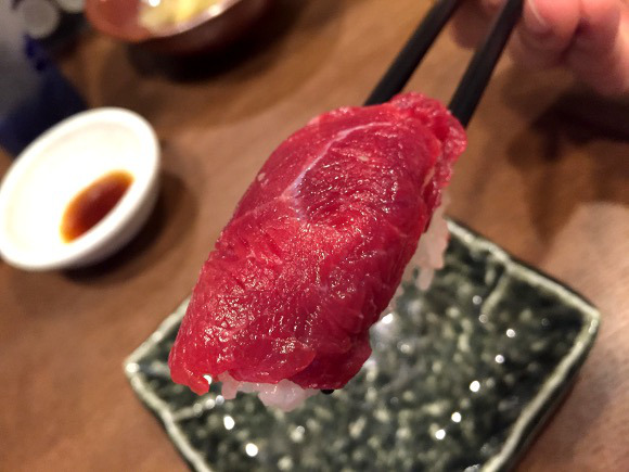 Horse meat sushi restaurant opens up in Tokyo, becomes sushi's latest craze 【Photos】