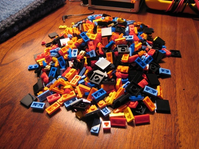 There's a reason why there are fewer green Lego bricks than any other color