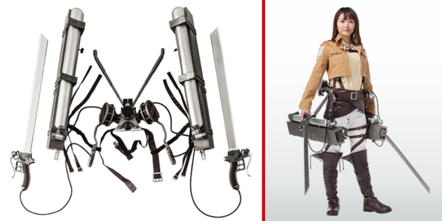 7-Eleven really does sell everything in Japan, even Attack on Titan 3-D maneuver gear