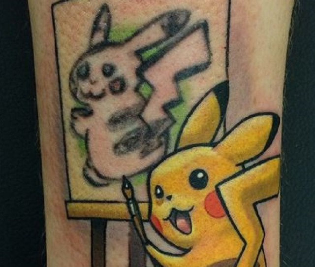 The secret reason why this Pikachu tattoo is one of the best you'll ever see