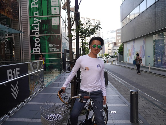 No more earphones while cycling in Japan? Well, how about nipplephones?