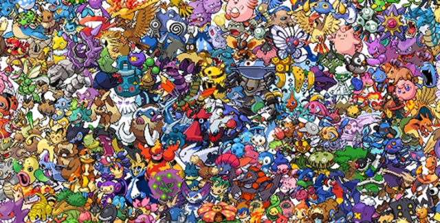 Where's Wally? Out of the picture now because Japanese Twitter users want to find Pikachu instead