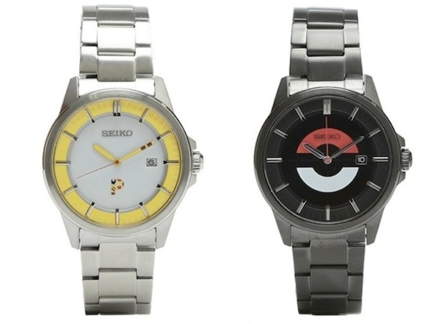 Wear Pikachu or a Poké Ball on your arm and be fashionably on time with Pokémon × BEAMS watches!