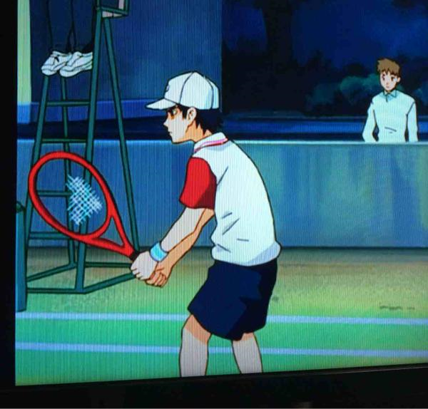 Can you spot this art mistake that turns sports anime Prince of Tennis into a horror story?