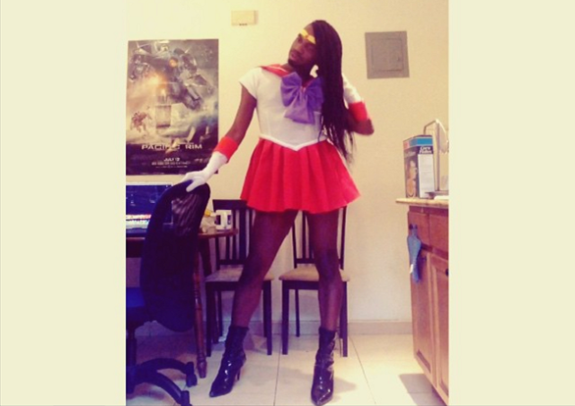 African Sailor Moon is back with cosplay that burns with Mars power