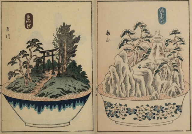 These 19th-century Japanese miniature landscapes show that size isn't everything