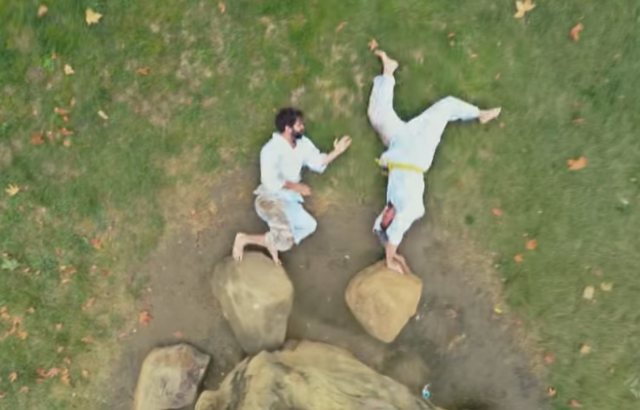 Stop-motion karate, because we'll never actually be karate masters 【Video】