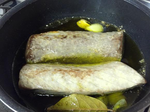 tuna cooked