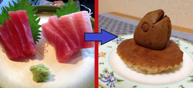 We try Japanese desserts made with bits of tuna. What could go wrong? 【Taste test】