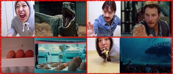 This one-woman Jurassic World parody from Korea is the next blockbuster waiting to happen 【Video】