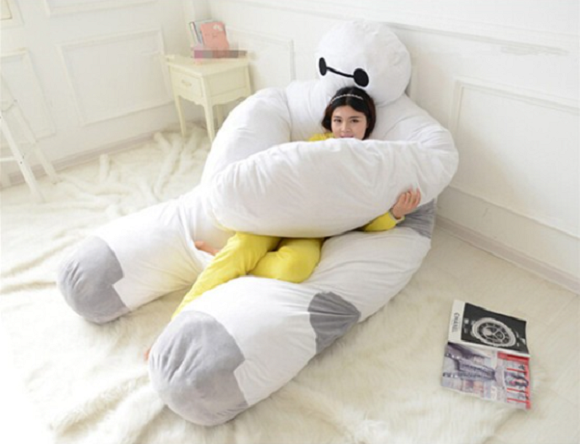 Are you satisfied with your sleep? If not, maybe you need an adorable Baymax bed