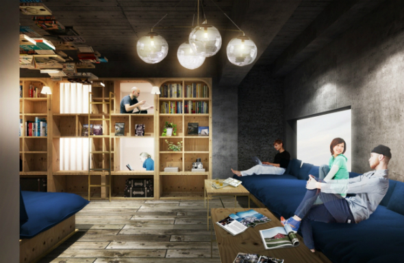 New Tokyo hotel lets you sleep in a bookstore