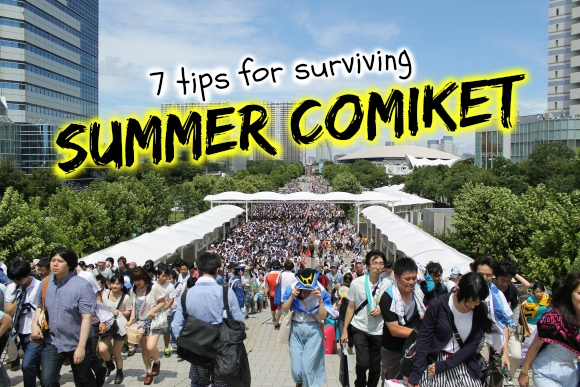 Comiket for beginners: 7 tips for surviving Summer Comic Market