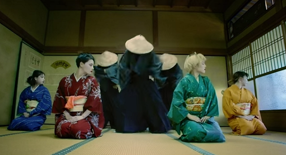 Modern dance and kimono: This will be the coolest dance video you see all day!