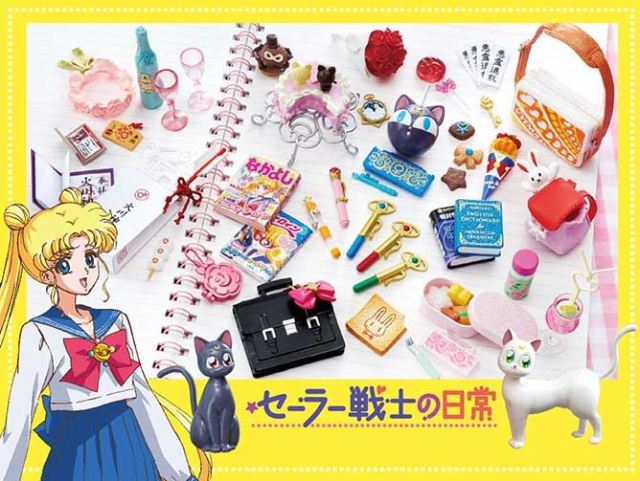 Cute miniature collection reveals the everyday items used by Sailor Moon cast