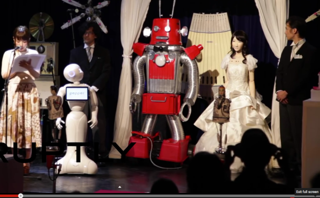 A.I. say I do: Japan's first ever robot wedding?!