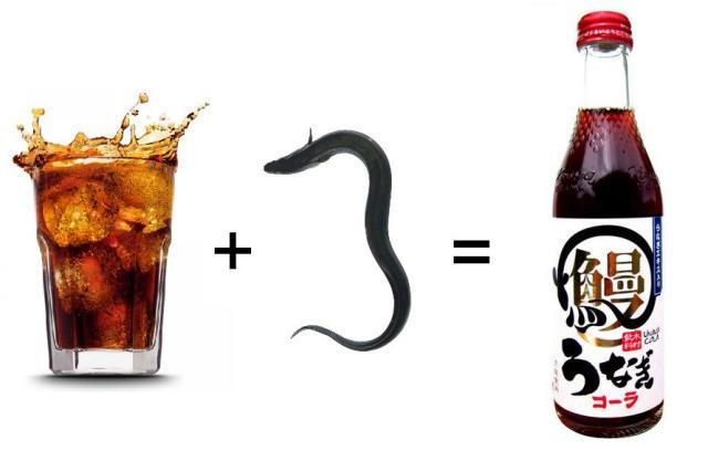 Bacon soda's new contender is here – Say hello to unagi cola!