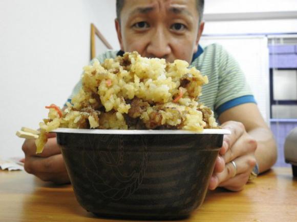 New fried take on Yoshinoya's original beef bowl really hits the spot! 【Recipe】