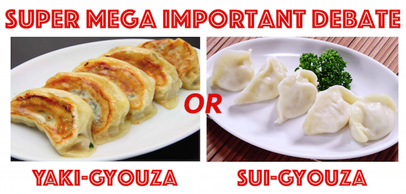 Super Mega Important Debate: Fried gyoza or boiled gyoza? 【Poll Closed】
